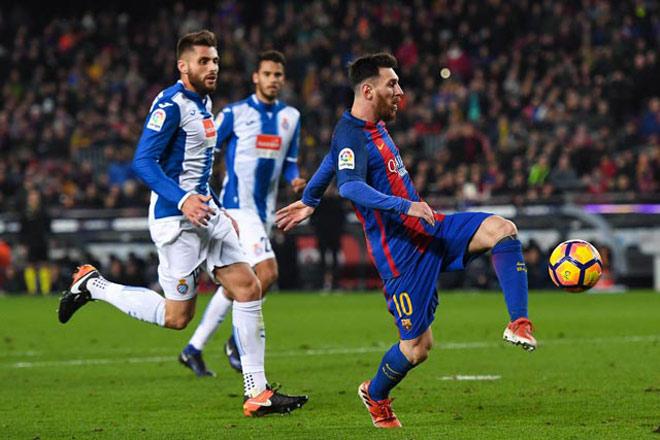 """Espanyol – Barcelona: Siêu nhân Messi và """"bộ ba nguyên tử"""" mới - 2"""