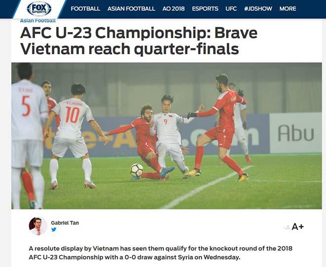 U23 Việt Nam vào tứ kết: Báo chí Thái Lan đưa Quang Hải lên trang nhất - 4