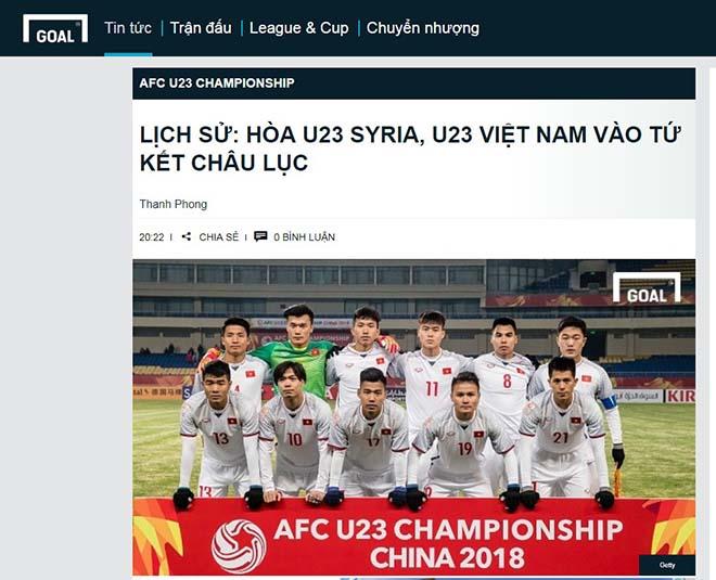 U23 Việt Nam vào tứ kết: Báo chí Thái Lan đưa Quang Hải lên trang nhất - 7