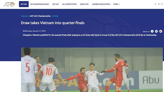 U23 Việt Nam vào tứ kết: Báo chí Thái Lan đưa Quang Hải lên trang nhất - 6