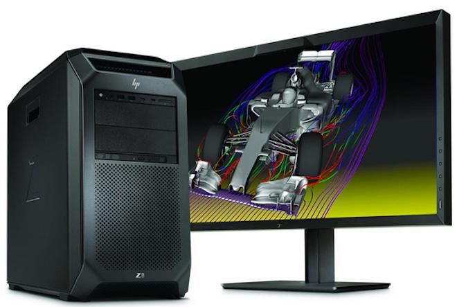 """HP công bố máy trạm """"siêu khủng"""": CPU hỗ trợ tối đa 56 luồng, 3TB RAM - 1"""
