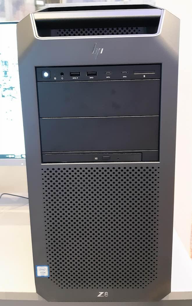 """HP công bố máy trạm """"siêu khủng"""": CPU hỗ trợ tối đa 56 luồng, 3TB RAM - 2"""