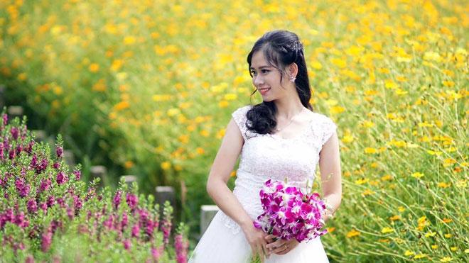 Không thể tin nổi giữa Sài Gòn có cánh đồng hoa đẹp đến thế! - 10
