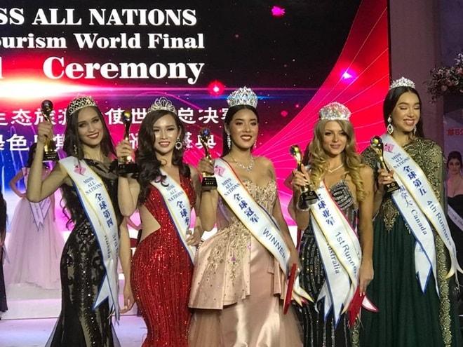 Kiều nữ Sài Thành có vòng 3 gần 1 mét bất ngờ đăng quang Á hậu các quốc gia 2017 - 1