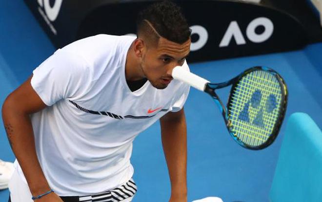 """Kiệt tác Australian Open: """"Trai hư"""" Kyrgios & tuyệt chiêu ăn điểm quá đỉnh 1"""