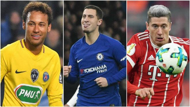 "Real khai tử BBC: ""Bố già"" Perez tậu bộ 3 Neymar - Hazard – Lewandowski - 2"