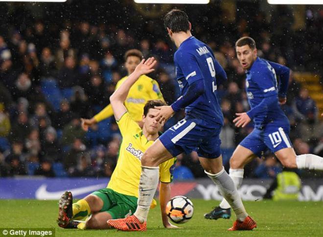 Chelsea - Norwich: Điên rồ 2 thẻ đỏ, đấu súng siêu căng thẳng 1
