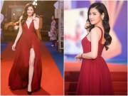"""Thời trang - """"Bạn gái Noo Phước Thịnh"""" đẹp nhất tuần nhờ váy vừa khoét sâu lại xẻ cao"""