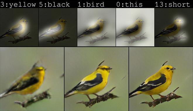 Trí tuệ nhân tạo đã dựng được hình ảnh từ nội dung mô tả trong văn bản