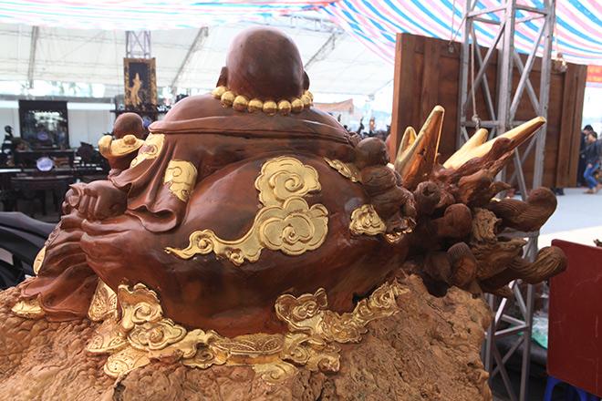 """Sở hữu gỗ lũa quý hình """"rùa hóa rồng"""", chủ nhân ra giá 600 triệu - 4"""