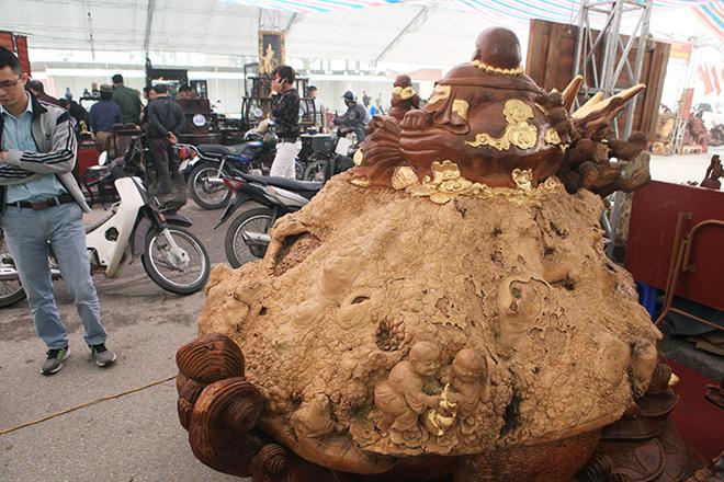 """Sở hữu gỗ lũa quý hình """"rùa hóa rồng"""", chủ nhân ra giá 600 triệu - 8"""