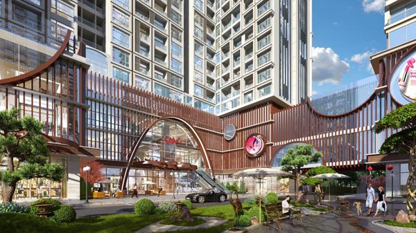 Hinode City hút khách nhờ ý tưởng mới và ưu việt trong thiết kế kỹ thuật - 2