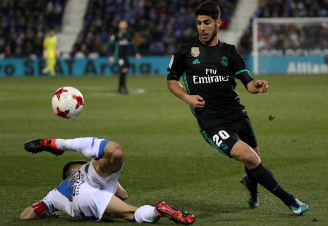 Leganes - Real Madrid: (Tứ kết lượt đi Cúp Nhà vua)
