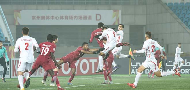 U23 Qatar - U23 Palestine: (Tứ kết U23 châu Á)