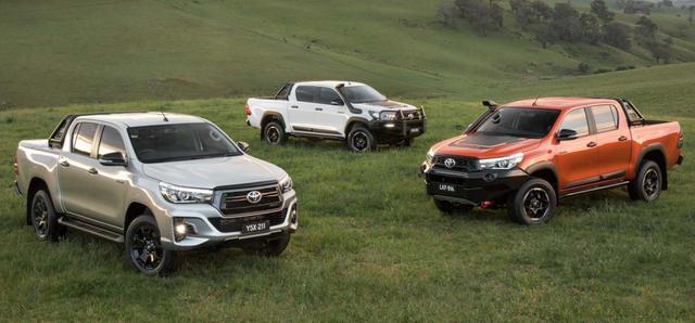 Toyota Hilux 2018 đa dạng hơn với 3 biến thể - 1