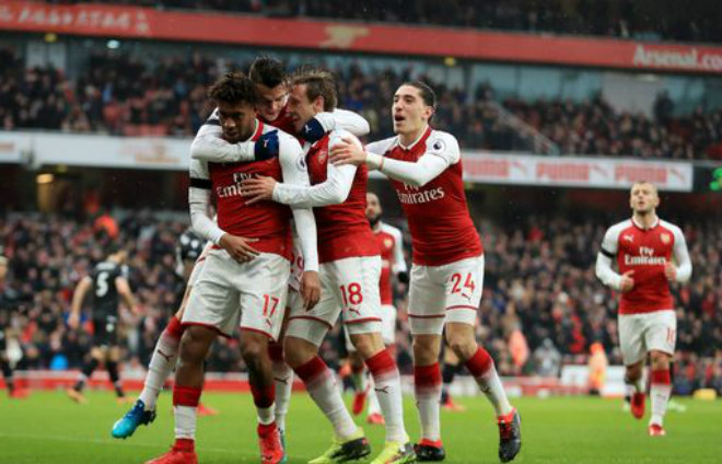 Arsenal vs Crystal Palace: vòng 24 Ngoại hạng Anh