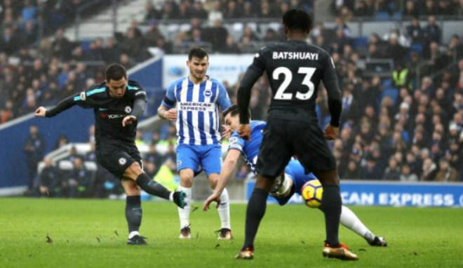 """Brighton - Chelsea: Ngây ngất tuyệt phẩm, bàn thắng """"như mưa"""""""