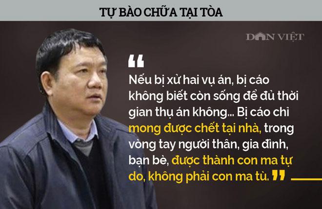 Infographic: Ám ảnh phát ngôn của bị cáo Đinh La Thăng, Trịnh Xuân Thanh