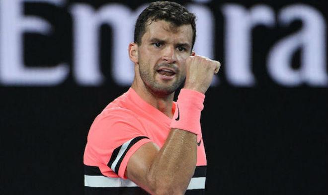 """Australian Open 21/1: Dimitrov """"đấu súng"""" nghẹt thở vào tứ kết 1"""