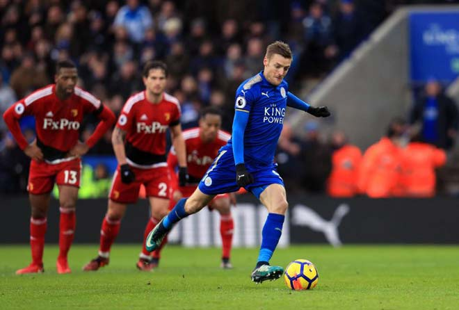 "Leicester City - Watford: ""Song sát"" bay bổng 1"