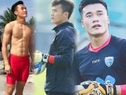 Làm đẹp - Cơ bụng 6 múi hấp dẫn của thủ môn Bùi Tiến Dũng U23 Việt Nam