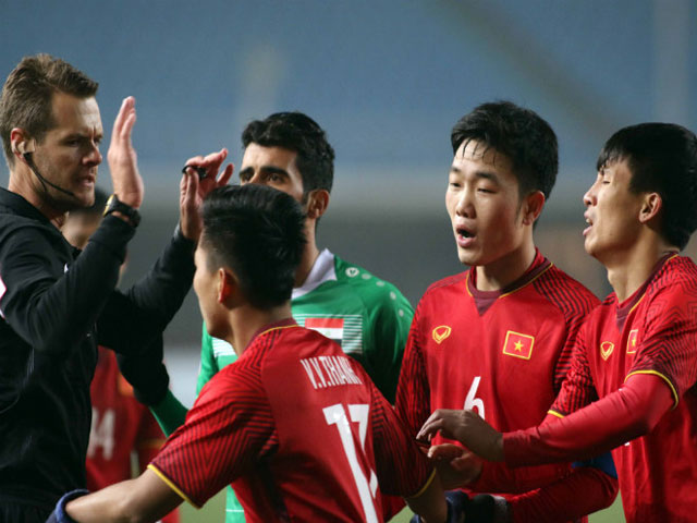Sững sờ tin trọng tài người Iraq bắt chính: U23 Việt Nam vs U23 Qatar