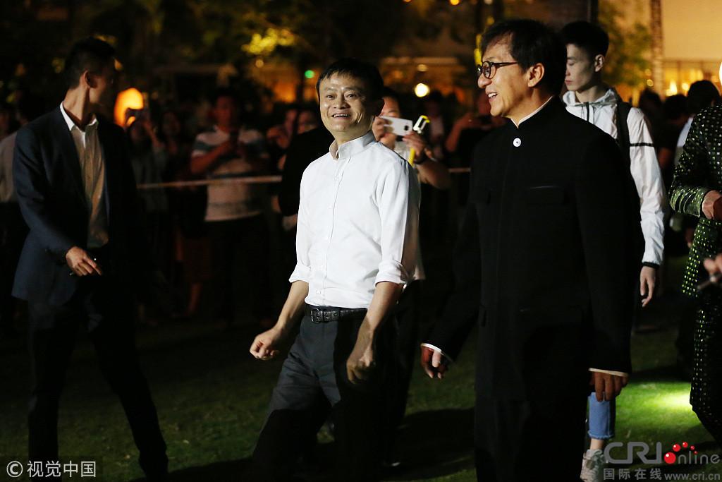 Thành Long, Lý Liên Kiệt tránh nhau tại sự kiện của Jack Ma - 6