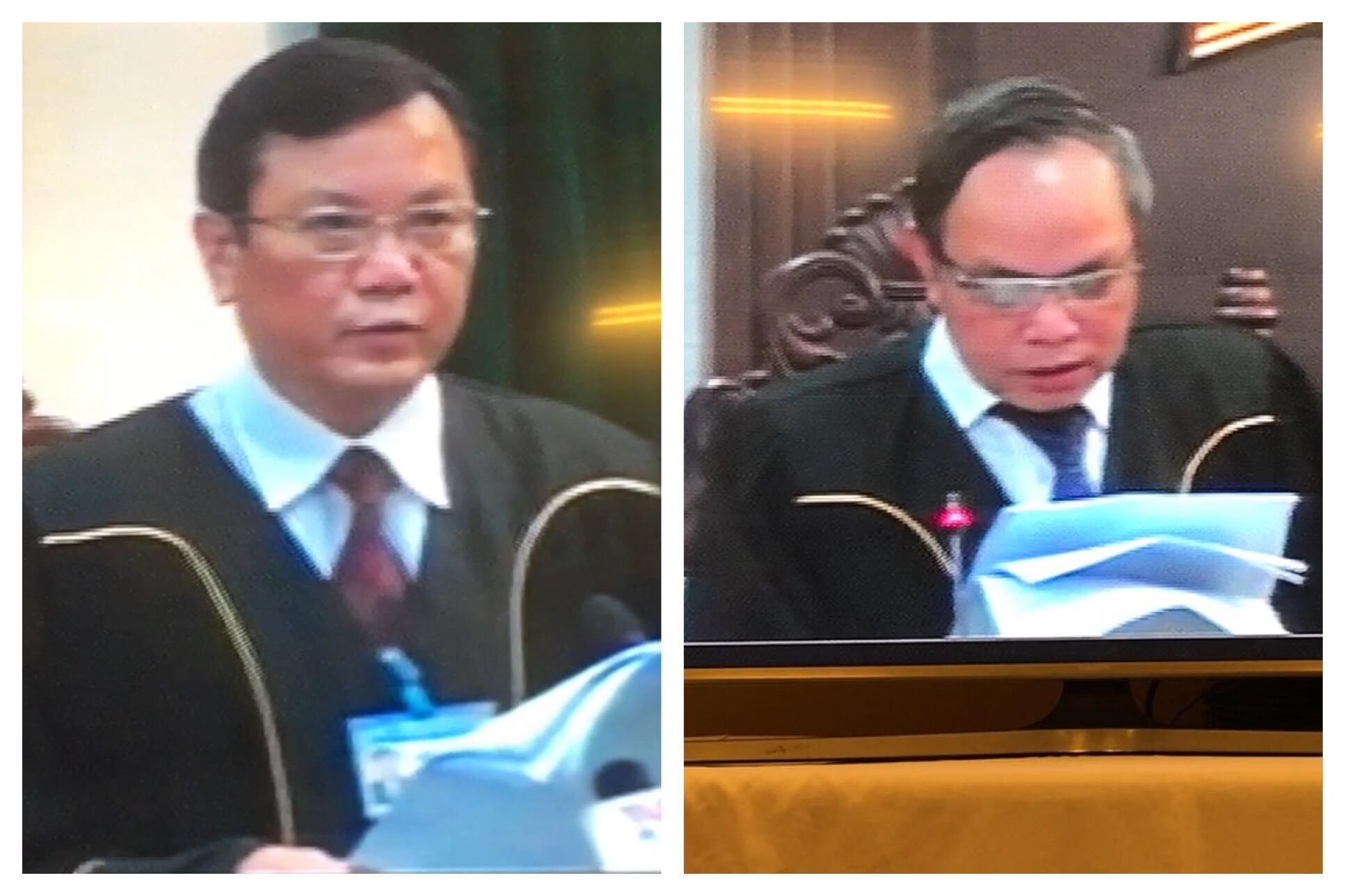 Clip tuyên án ông Đinh La Thăng, Trịnh Xuân Thanh - 2