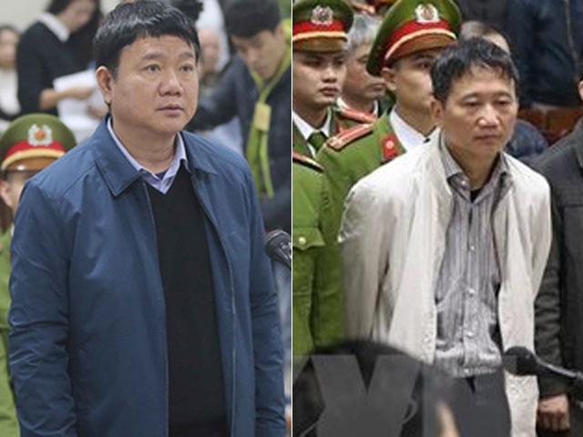 Clip tuyên án ông Đinh La Thăng, Trịnh Xuân Thanh