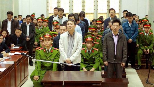 Tòa xử ông Đinh La Thăng: Trịnh Xuân Thanh