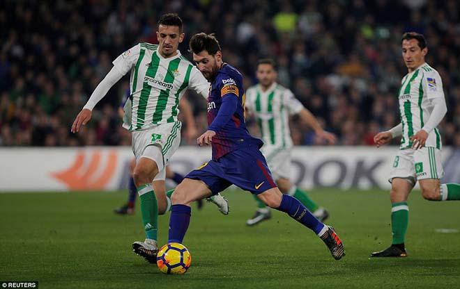 Betis - Barcelona: (vòng 20 La Liga)