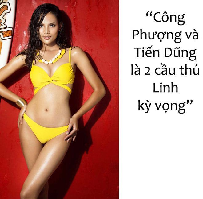 Hoa, á hậu Việt nô nức chúc đội tuyển U23 Việt Nam chiến thắng! - 6