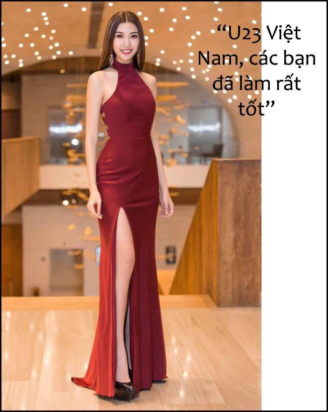 Hoa, á hậu Việt nô nức chúc đội tuyển U23 Việt Nam chiến thắng! - 2