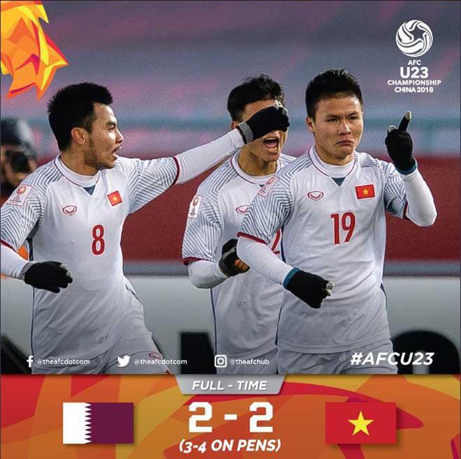 Kỳ tích U23 Việt Nam: Truyền thông thế giới bái phục, châu Á đại địa chấn