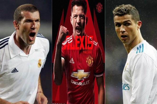 """MU mua Sanchez, """"Sao già"""" áo số 7: Sẽ vĩ đại như Zidane, Ronaldo, Messi 2"""