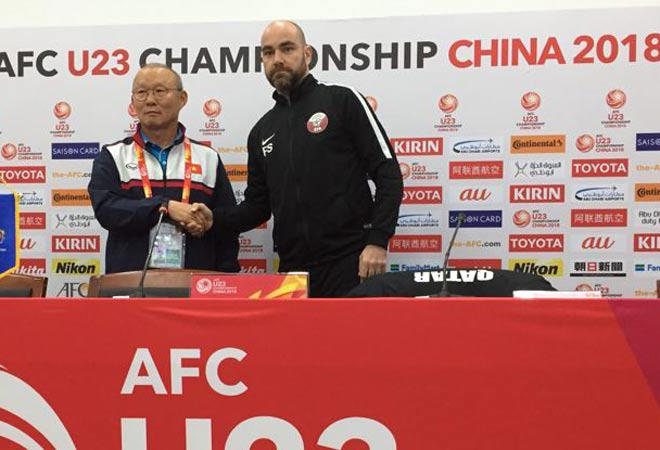 TRỰC TIẾP bóng đá bán kết U23 Việt Nam - U23 Qatar: Khỏa lấp khoảng trống Văn Hậu 5