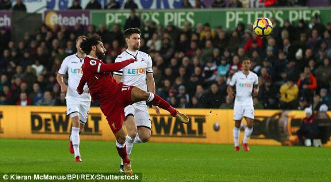 Swansea City - Liverpool: Thót tim đến phút bù giờ 1