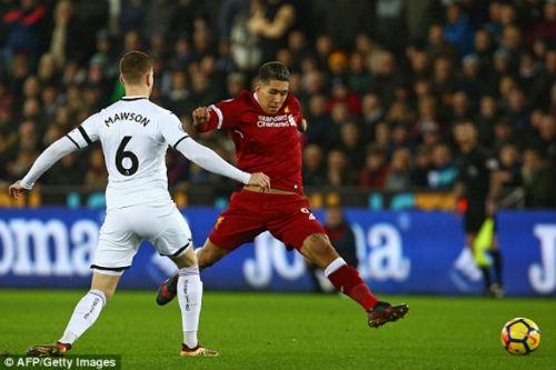 Chi tiết Swansea – Liverpool: Cột dọc oan nghiệt tước bàn thắng (KT) 3