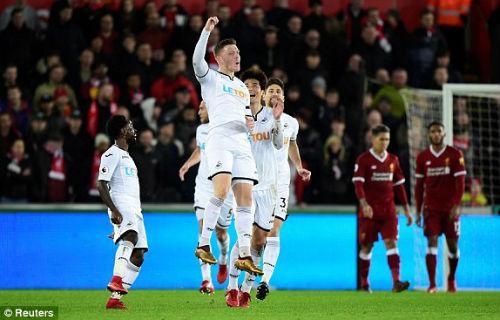 Chi tiết Swansea – Liverpool: Cột dọc oan nghiệt tước bàn thắng (KT) 7