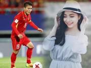 """Bạn trẻ - Cuộc sống - Vẻ đẹp gợi cảm của bạn gái """"người hùng"""" U23 Việt Nam"""