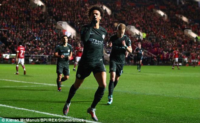 """Bristol - Man City: Rượt đuổi 5 bàn siêu """"điên rồ"""" - 1"""