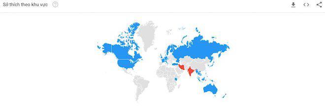 U23 Việt Nam trở thành hiện tượng tìm kiếm trên Google