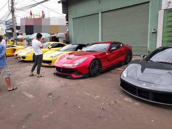Cường Đô La và Đàm Thu Trang du lịch cùng hội chơi siêu xe - 3
