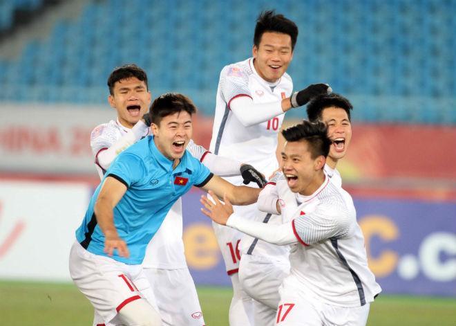 Cầu thủ U23 Việt Nam đổ máu, kiệt sức giật vé chung kết lịch sử - 11