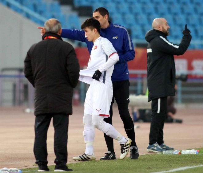 Cầu thủ U23 Việt Nam đổ máu, kiệt sức giật vé chung kết lịch sử - 3