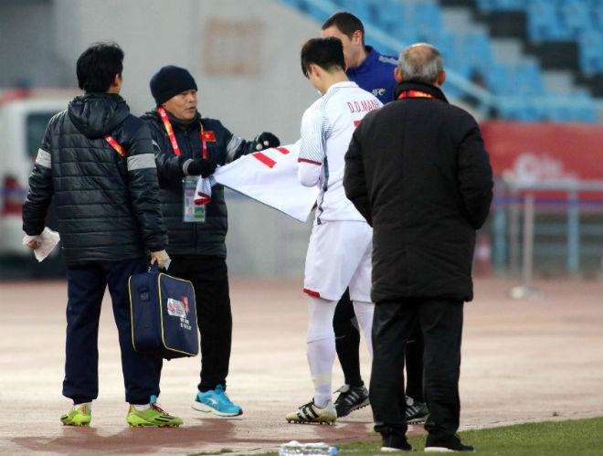 Cầu thủ U23 Việt Nam đổ máu, kiệt sức giật vé chung kết lịch sử - 4