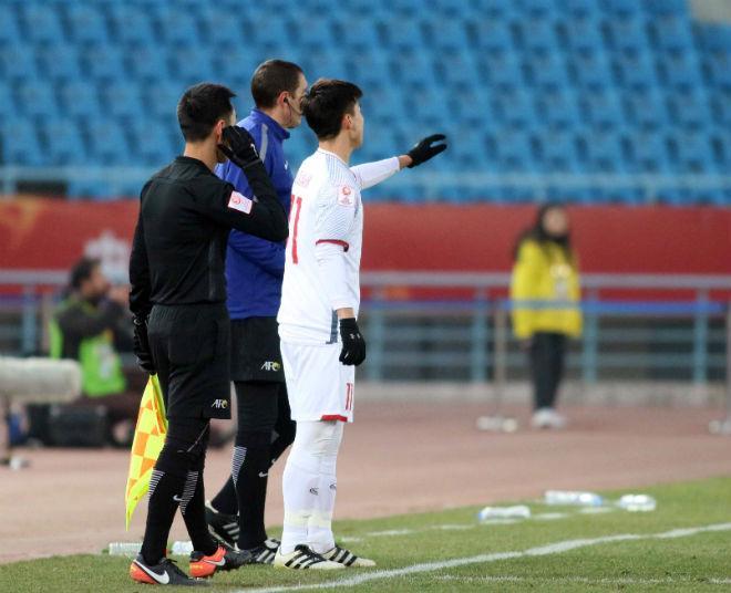 Cầu thủ U23 Việt Nam đổ máu, kiệt sức giật vé chung kết lịch sử - 6