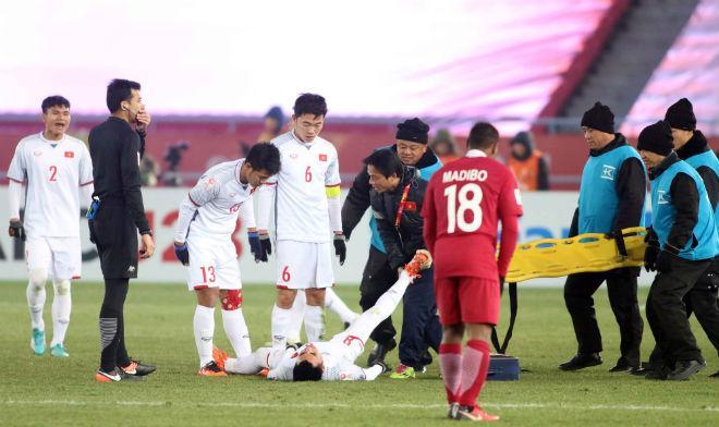 Cầu thủ U23 Việt Nam đổ máu, kiệt sức giật vé chung kết lịch sử - 9