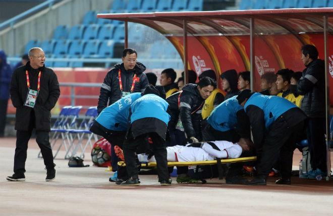 Cầu thủ U23 Việt Nam đổ máu, kiệt sức giật vé chung kết lịch sử - 10