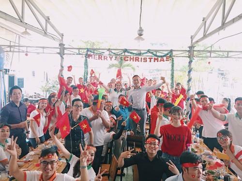 Địa ốc Long Phát vui cùng chiến thắng lịch sử của U23 Việt Nam - 1